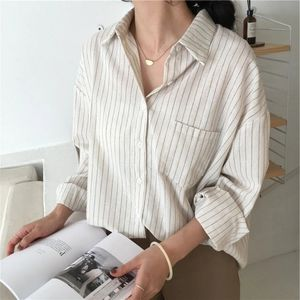 Yesstyle pinstriped blouse